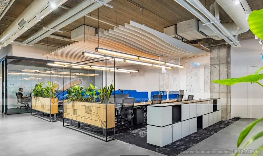 Thiết kế văn phòng theo xu hướng hiện đại đề cao yếu tố đẹp, sáng tạo