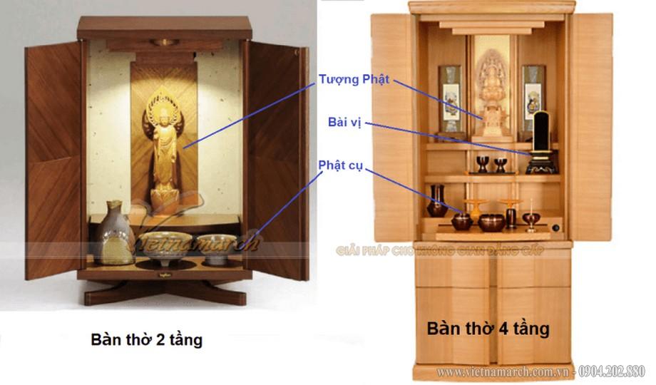 Tủ thờ Nhật Bản và những nét độc đáo trong phong tục thờ cúng Phật ở Nhật Bản