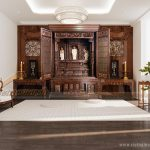 80++ Mẫu tủ thờ Phật Nhật Bản cho phòng thờ Việt hiện đại