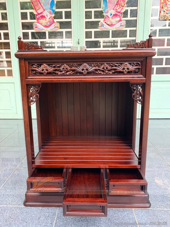 Một số mẫu tủ thờ Phật Nhật Bản cho phòng thờ Việt hiện đại