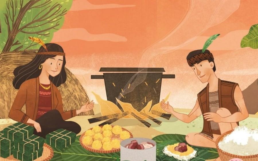 Ý nghĩa bánh dày trong truyền thuyết