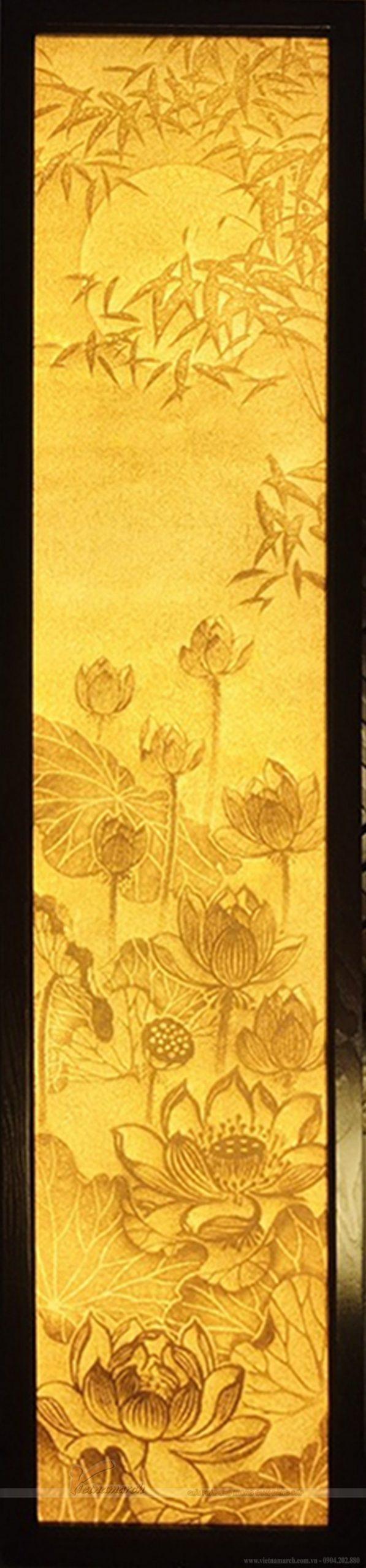 Bộ sưu tập tranh giấy dừa, tranh trúc chỉ hoa sen mới nhất 2021 tại 61 Nguyễn Xiển