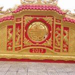 Chiêm ngưỡng nhà thờ họ Trần Viết  sơn son thếp vàng  thi công 1 tỉ 3 tại phường An Đông, Huế