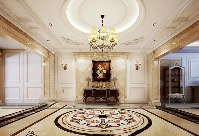 Phòng khách là nơi vẻ đẹp của trần thạch cao cần được phơi bày