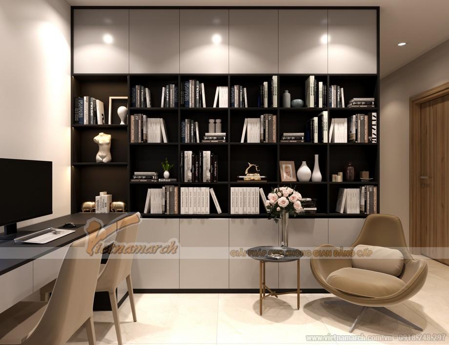 Thiết kế phòng làm việc trong căn hộ diện tích nhỏ
