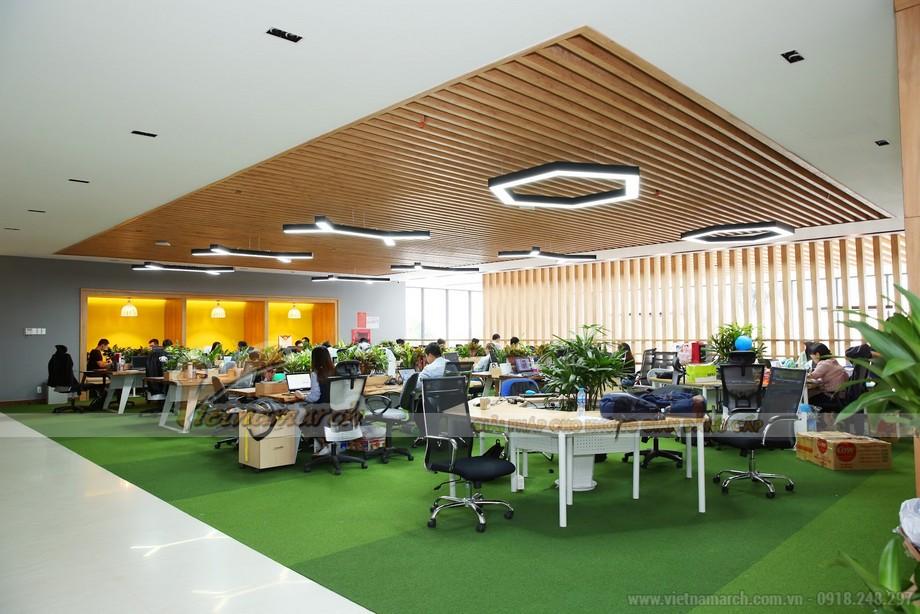 Thiết kế văn phòng ở Đà Nẵng phong cách mở