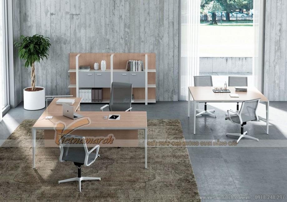Thiết kế văn phòng ở Đà Nẵng phong cách tối giản