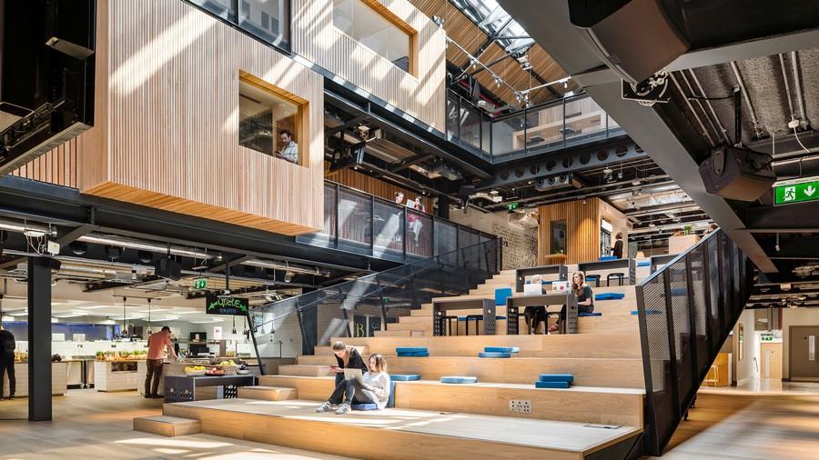 .Xu hướng thiết kế nội thất văn phòng Hybrid office là gì ?