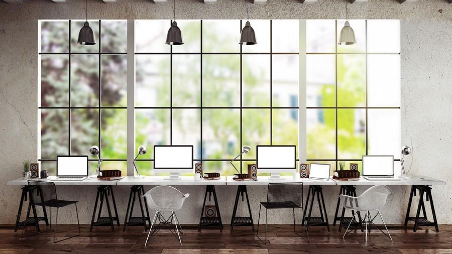 Không gian làm việc được trang bị các thiết bị thông minh linh hoạt như các trạm sạc điện thoại và boot gọi điện tiện ích