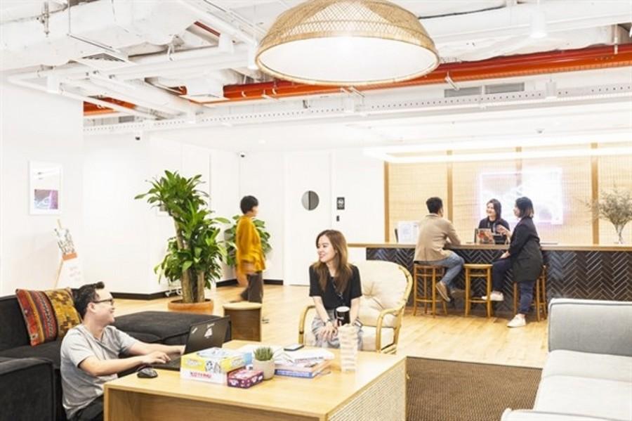 Thiết kế văn phòng kết hợp giữa làm việc và ở nhà