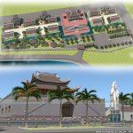 Bản vẽ thiết kế đình chùa đẹp ấn tượng tại miền quê Thanh Hóa