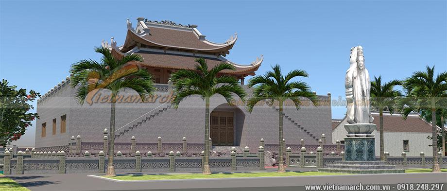 Bản vẽ thiết kế đình chùa đẹp ấn tượng tại Thanh Hóa
