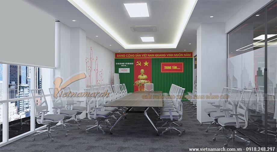 Thiết kế văn phòng 250 chỗ ngồi
