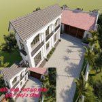 Xiêu lòng trước ngôi biệt thự hiện đại kết hợp nhà thờ dòng họ 5 gian  tại Bắc Ninh