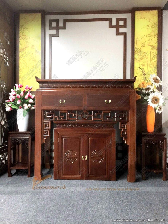 Mẫu phòng thờ đẹp hiện đại
