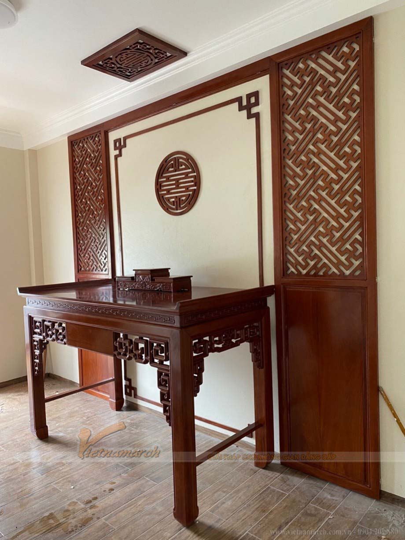 Thiết kế mẫu bàn thờ đẹp