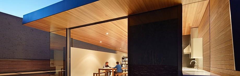 Không gian làm việc chung tầng 2-Gác mái được mở rộng thêm so với mặt bằng cũ