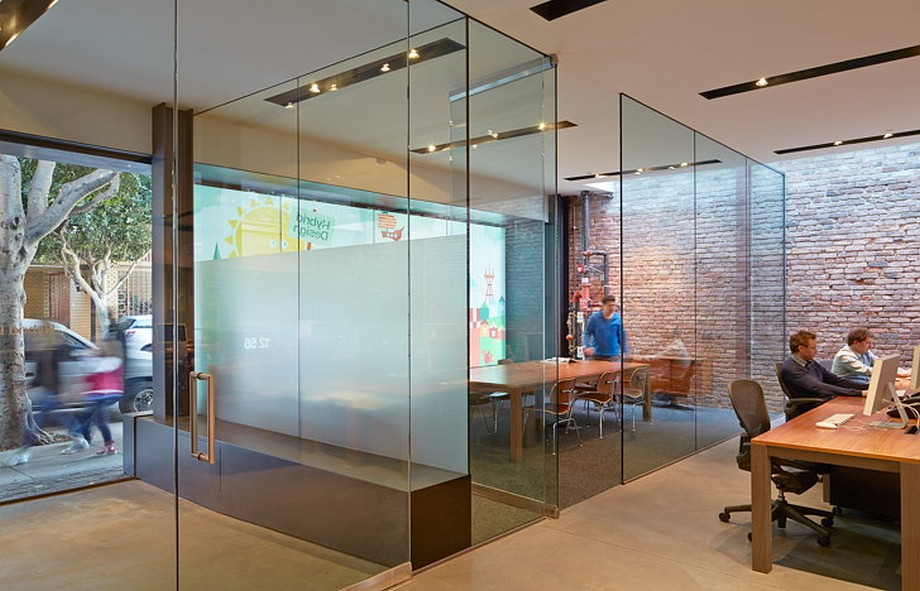 khu vực làm việc riêng tư- có thể tạo thành phòng họp nhóm mỗi khi cần thiết