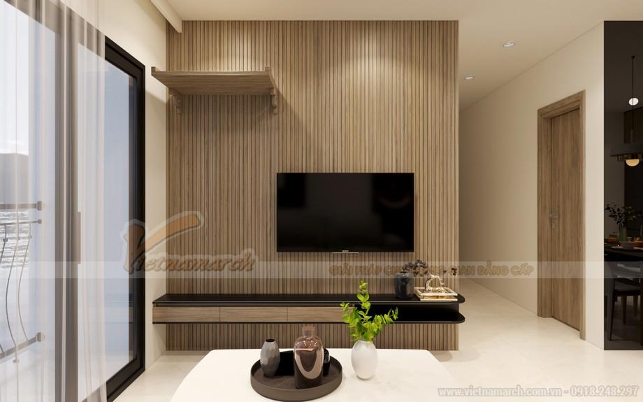 Thiết kế phòng khách chung cư Vinhomes Ocean Park