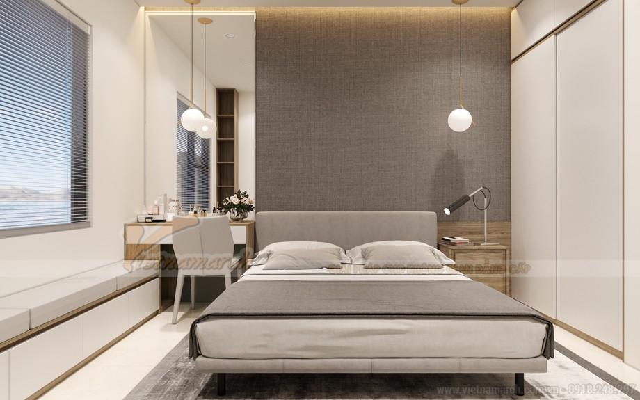 Thiết kế phòng ngủ đầy đủ tiện nghi