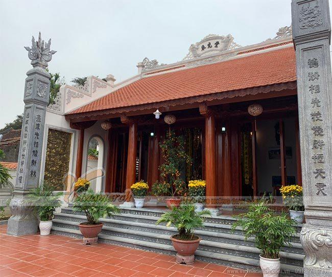 Thi công nhà thờ họ tại Thái Bình