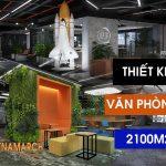 Dự án thiết kế văn phòng 2100m2 tại Định Công – Coworking space Cen X Space