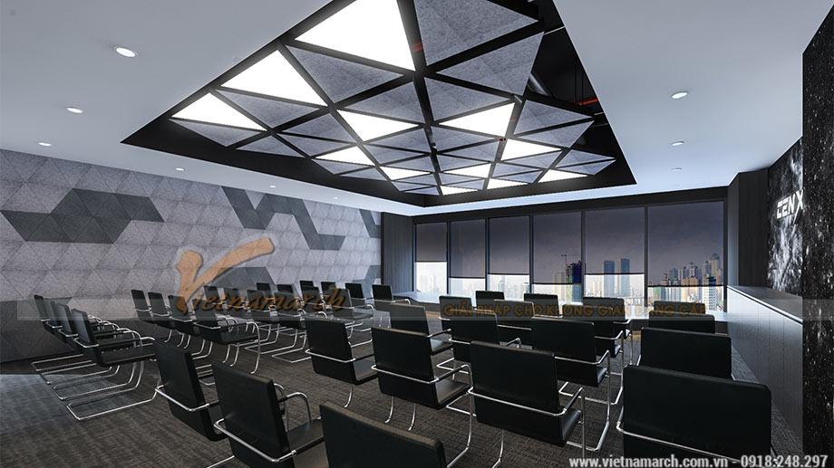 Dự án thiết kế văn phòng tại quận Hoàng Mai Hà Nội