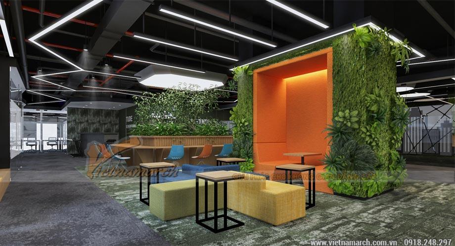 Thiết kế văn phòng 2100m2
