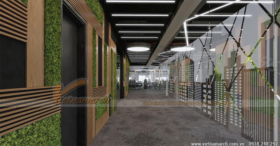 Thiết kế văn phòng coworking space tại Hoàng Mai – Hà Nội