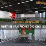 Bản vẽ thiết kế nội thất văn phòng 250 chỗ ngồi – Tập đoàn viễn thông quân đội Viettel