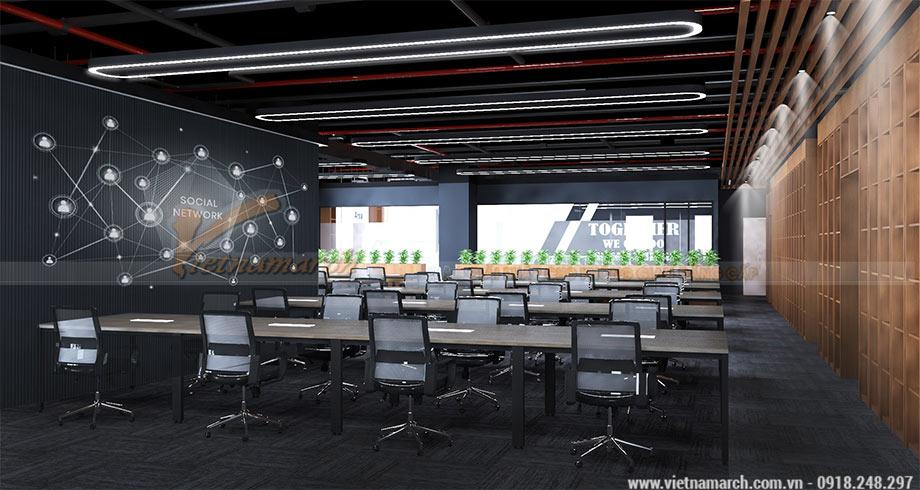 Thiết kế văn phòng 950m2