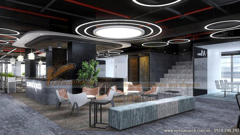 Thiết kế văn phòng coworking space tại Hoàng Mai