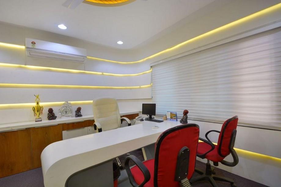 Thiết kế nội thất văn phòng làm việc giám đốc nữ tùy thuộc vào kinh phí đầu tư