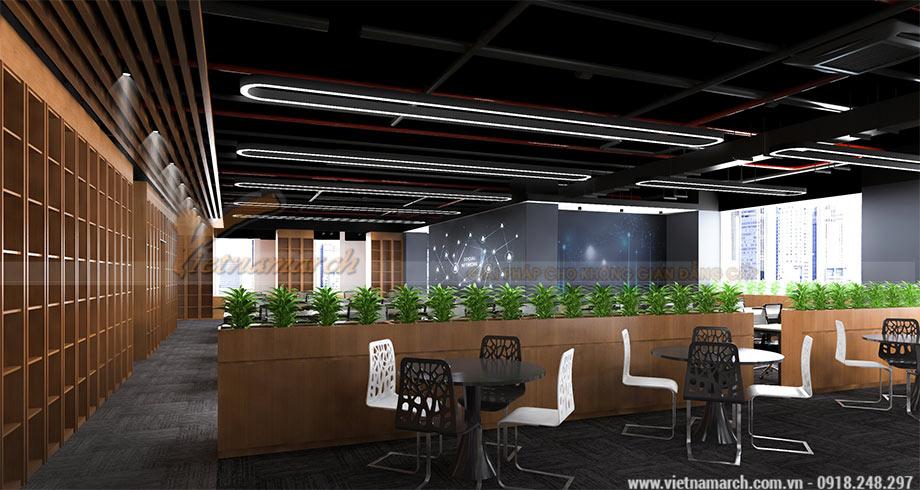 Thiết kế văn phòng 950m2 đẹp