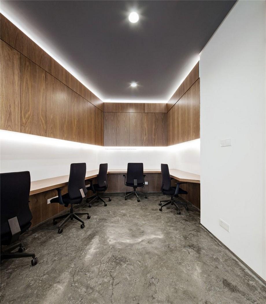 Thiết kế văn phòng siêu nhỏ 10m2 với tông màu sang trọng