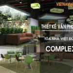 Dự án thiết kế văn phòng tại tòa Việt Đức Complex – Số 39 Lê Văn Lương