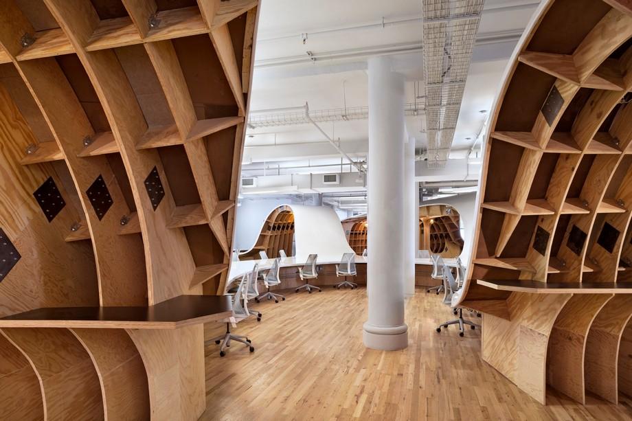 Thiết kế nội thất văn phòng đơn giản nhưng khá độc đáo