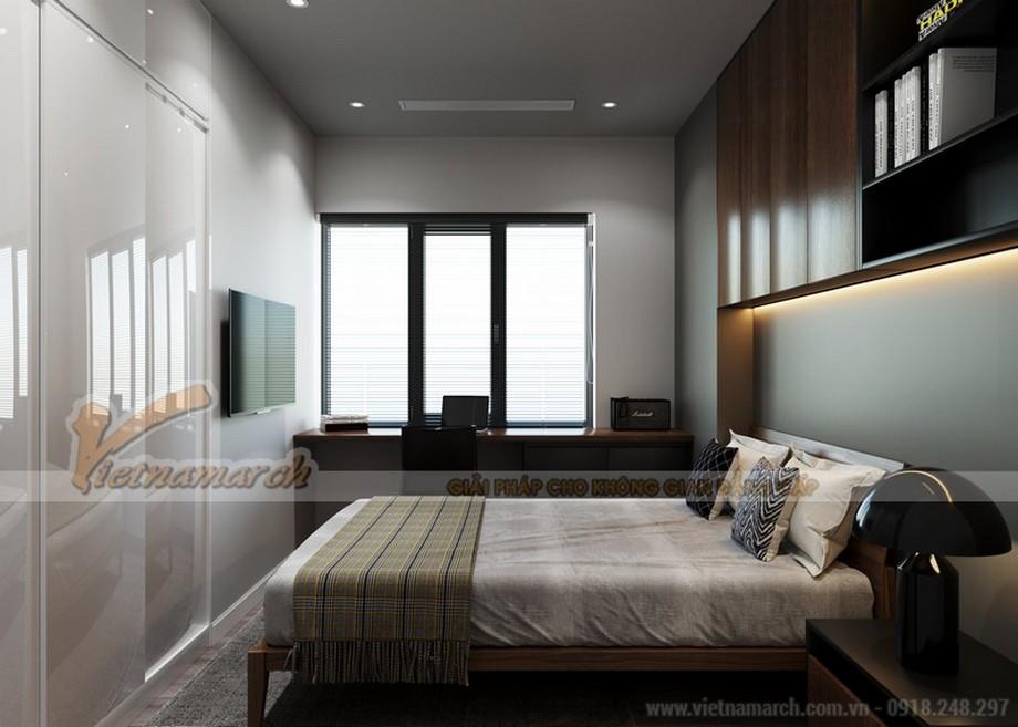 Thiết kế nội thất 3 phòng nghủ căn hộ The Zei Mỹ Đình