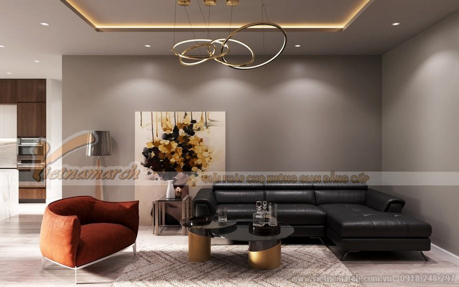 Thiết kế nội thất chung cư The Zei 3 phòng ngủ theo phong cách hiện đại
