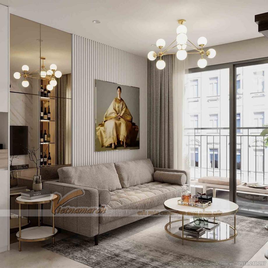 Thiết kế nội thất chung cư 3 ngủ Tháp thiên niên kỷ