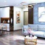 Chiêm ngưỡng mẫu thiết kế nội thất căn hộ 2 ngủ Tháp Thiên niên kỷ Hà Đông