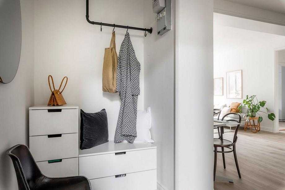 Góc treo đồ cá nhân thông minh trong ngôi nhà nhỏ mà đẹp