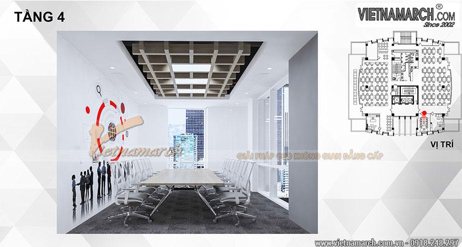 Bản vẽ thiết kế 3D văn phòng 700m2