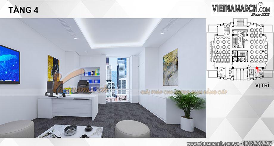Thiết kế nội thất văn phòng làm việc 700m2