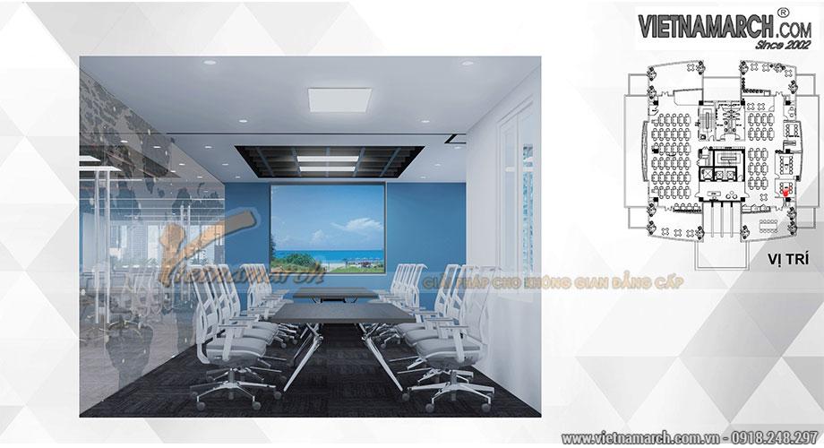 Mẫu thiết kế văn phòng công ty công nghệ