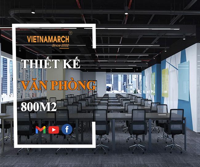 Thiết kế nội thất văn phòng 800m2 tại tầng 5 tòa nhà Bộ Kế hoạch & Đầu tư