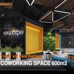 Dự án thiết kế văn phòng coworking space 600m2 tại tòa nhà Dolphin Plaza