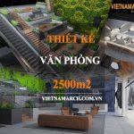 Dự án thiết kế văn phòng coworking space 2500m2 – Cen X Space Hồ Chí Minh