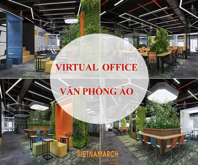Virtual Office - văn phòng ảo trong thiết kế văn phòng