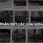 Phân biệt các loại sofa